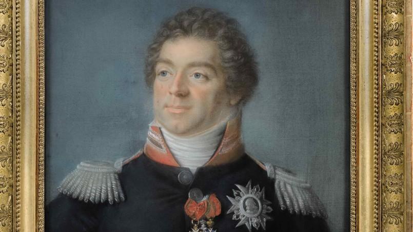 Portrait du maréchal Berthier, réalisé par Joseph Boze.