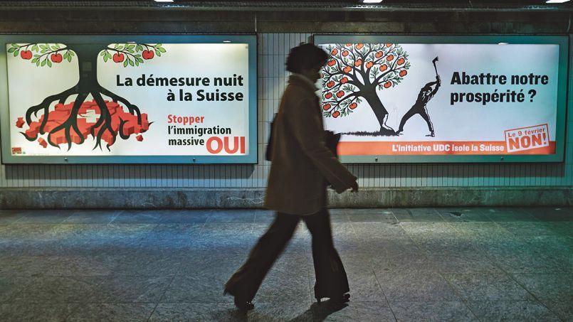 50,3% des votants se sont prononcés pour la limitation de l'immigration européenne en Suisse.