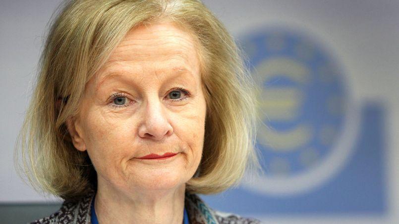 Danièle Nouy, lors d'une conférence de presse à Francfort, le 3 février.