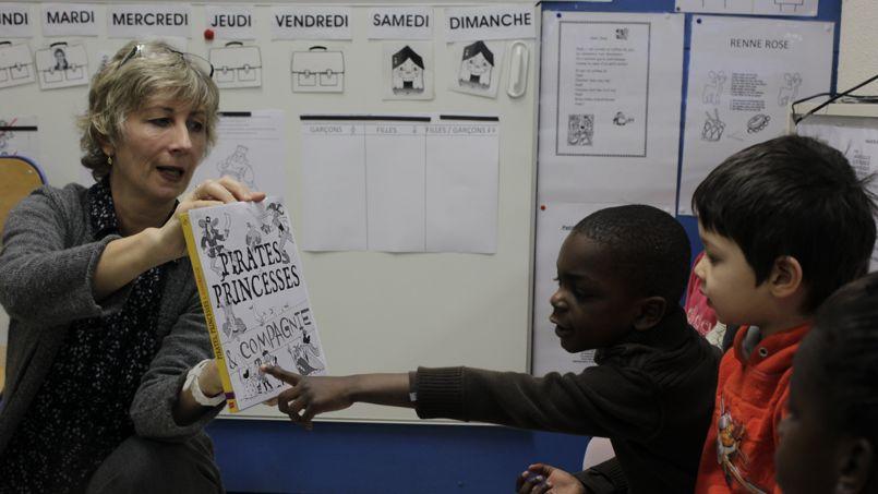 L'ABCD de l'égalité, teste dans une école maternelle