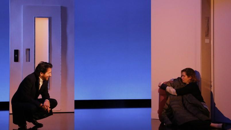 Emmanuelle devos et douard baer se font des sc nes - Piece de theatre la porte a cote ...