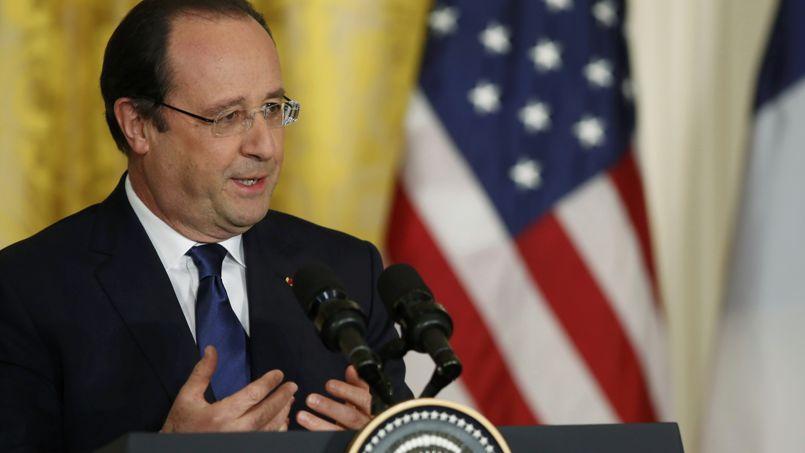François Hollande, le 11 février à la Maison-Blanche.