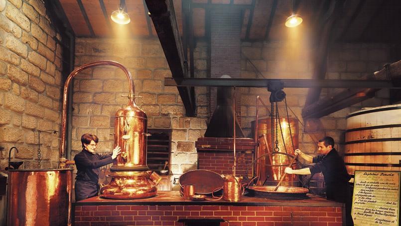 La distillerie Denoix à Brive-la-Gaillarde.