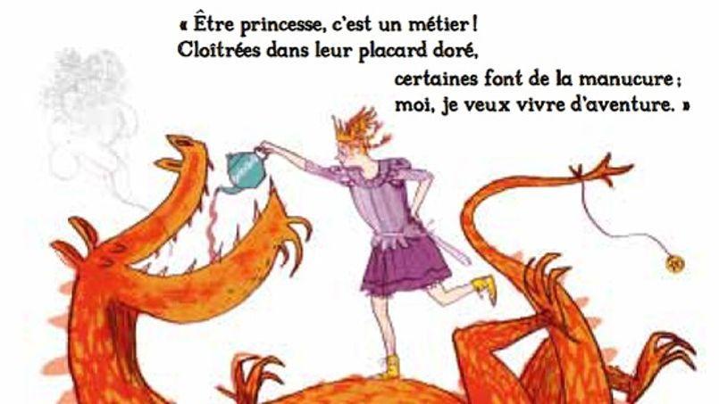Extrait du livre La Pire des Princesses (Éditions Milan, 2013)