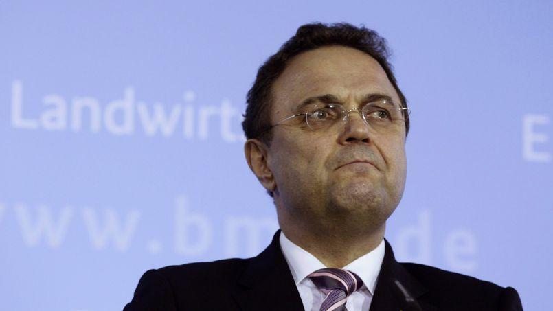 Le ministre de l'Agriculture Hans-Peter Friedrich a annoncé sa démission ce vendredi 14 février.