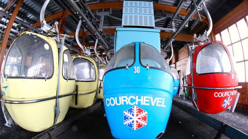 67 des 77œufs de la télécabine de la Forêt, à Courchevel, seront vendus à l'amiable en mai. Les dix autres seront mis aux enchères à l'automne.