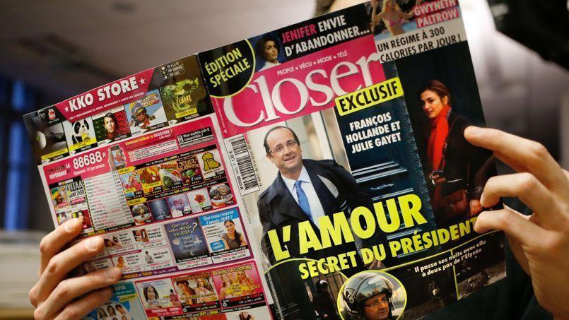 Le numéro du 10 janvier de Closer est resté dans les kisoques pendant deux semaines.