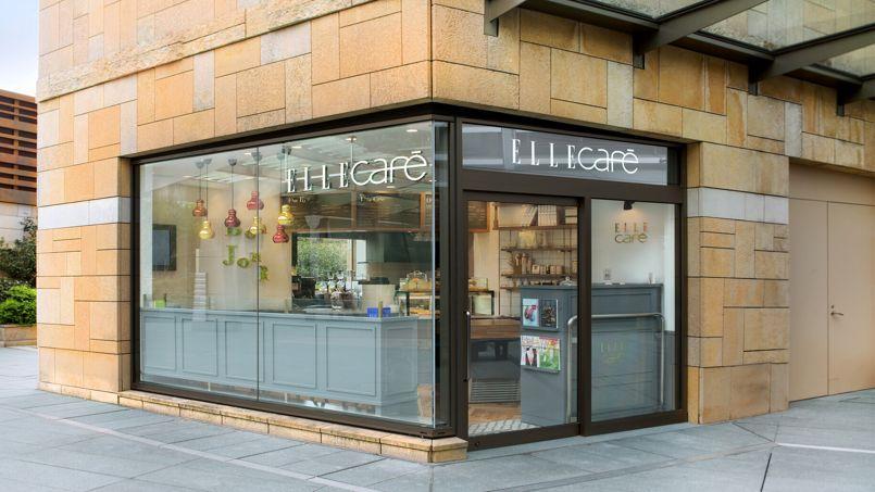 Elle café, Roppongi Hills à Tokyo au Japan.
