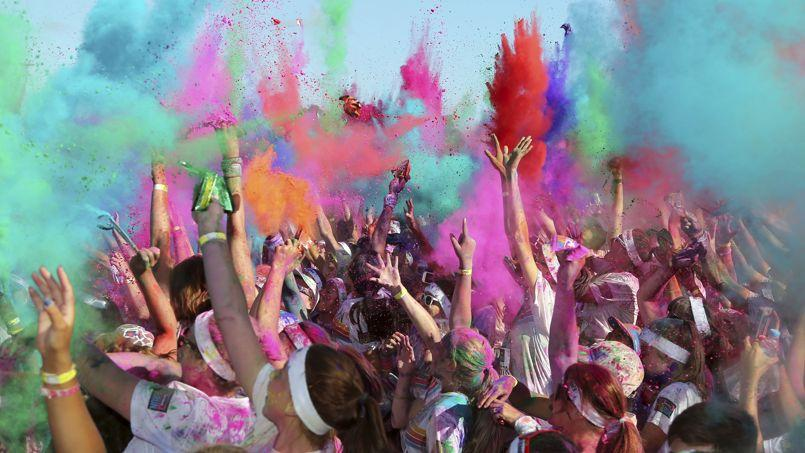 Le Color Run est passé dans les plus grandes villes du monde (ici à Sydney, le 9 février).