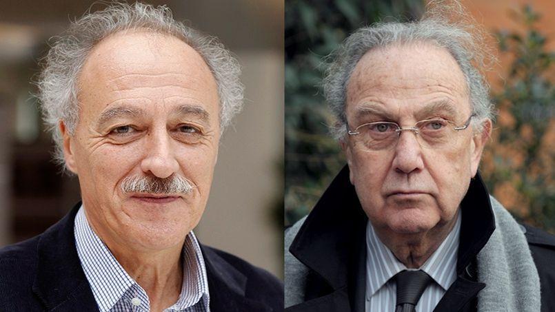 Yves Contassot (à gauche) et Pierre Aidenbaum (à droite).