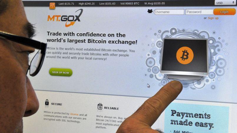 Le site Web de MtGox est vierge depuis ce mardi.