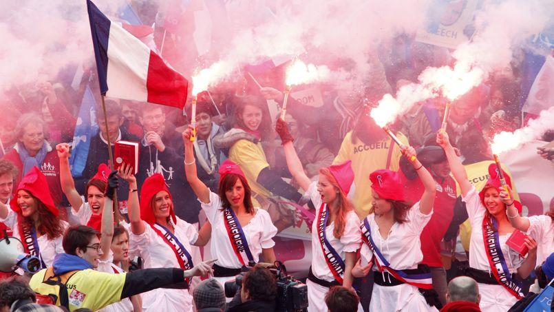 Manifestation des opposants au mariage pour tous (Jean-Christophe MARMARA /Le Figaro)
