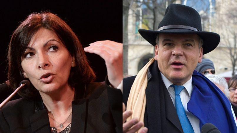 Entre la candidate socialiste à la mairie de Paris et Nicolas Miguet, président du Rassemblement des contribuables français, ayant échoué à de nombreuses reprises à se présenter à la présidentielle, rien ne va plus.