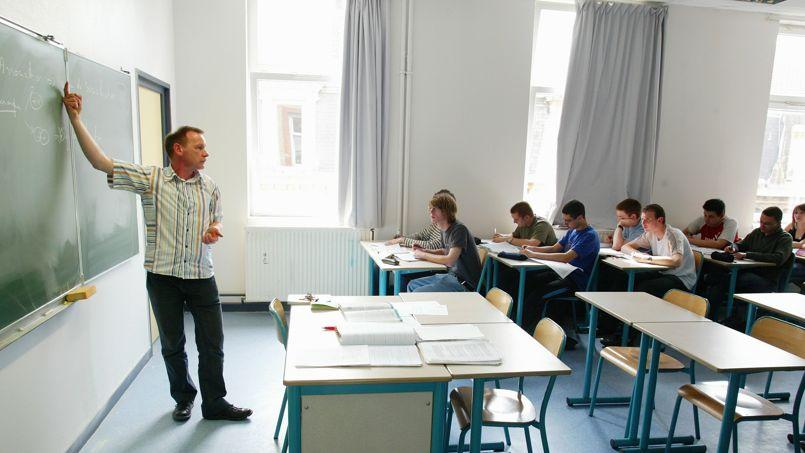 «J'entends peu d'enseignants raconter des histoires positives sur leur vie professionnelle» explique Carlos Goncalves, responsable de l'étude. Crédits photo: François Bouchon/Le Figaro.
