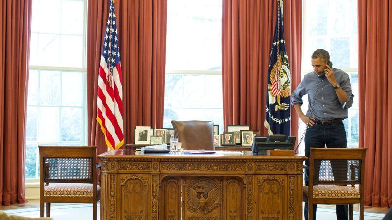 Pendant 90 minutes, samedi, Barack Obama, s'est entretenu au téléphone avec Vladimir Poutine.