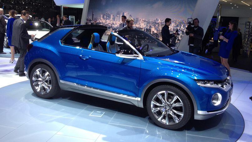 Volkswagen T-Roc, un SUV de ville