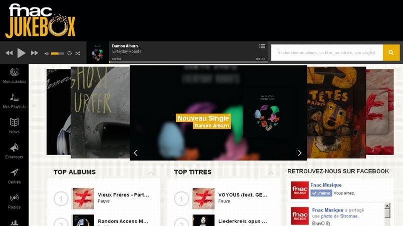 Fnac Jukebox donne accès légalement à plusieurs millions de chansons en streaming.