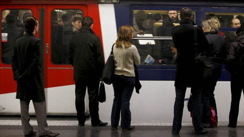 Durant l'été, la ligne A du RER compte environ 840.000 voyageurs. Crédit: Jean-Christophe Marmara/Le Figaro