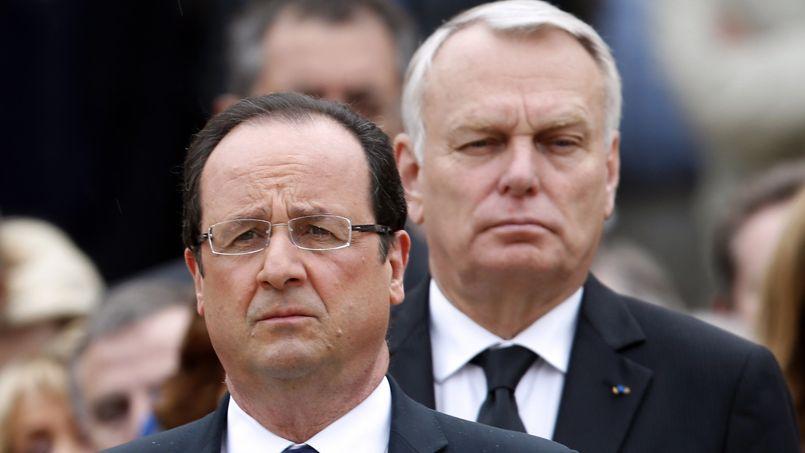 François Hollande et Jean-Marc Ayrault, le 11 juin 2013.