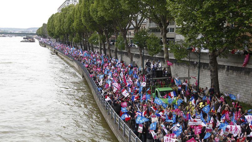 La manifestation contre la loi Taubira du 26 mai 2013. Sebastien Soriano/ Le Figaro