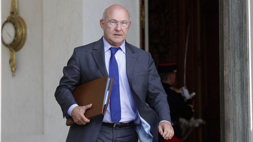 Michel Sapin à la sortie du Conseil des ministres, en septembre dernier.