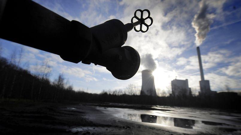 Une centrale au charbon près de la ville de Herne, en Allemagne. En 2013, les centrales à lignite ont fourni la majeure partie de l'électricité allemande.