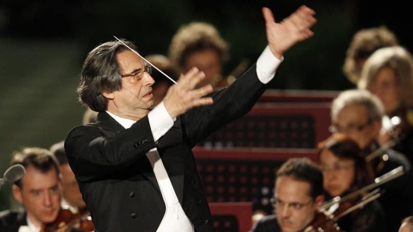 Riccardo Muti, en concert au Vatican, le 11 mai 2012.