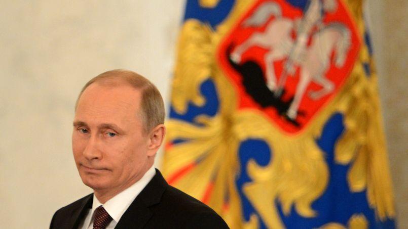 Le président russe Vladimir Poutine, ce mardi.