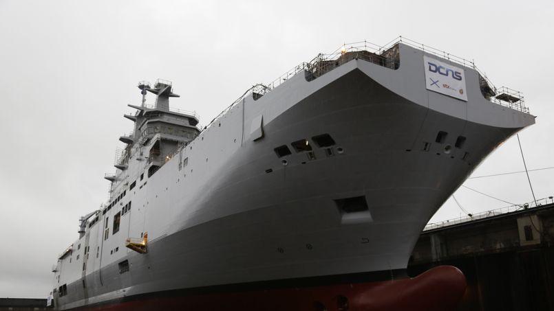 La BPC Vladivostok lors de sa mise à flot doit être livré à la ...