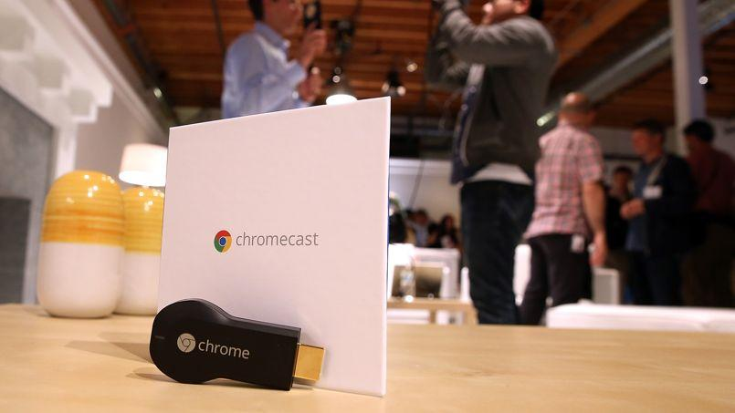 Google s'invite dans les télés françaises avec son Chromecast