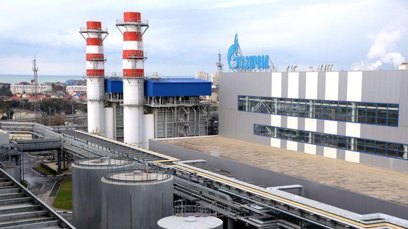 La centrale thermique de Gazprom à Sotchi destinée à couvrir plus d'un tiers de la consommation d'électricité prévue pendant les JO d'hiver organisés dans cette ville en 2014.