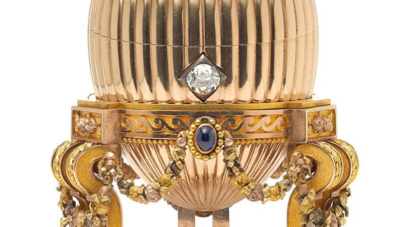 Un œuf impérial Fabergé retrouvé sur un marché aux puces