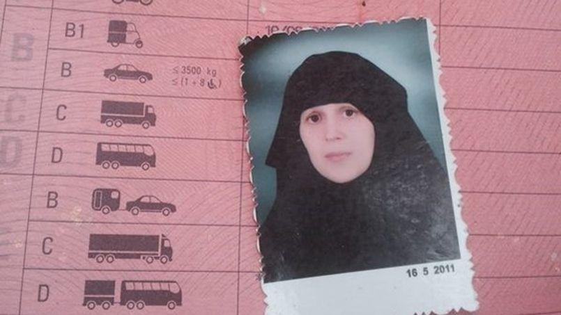 Le permis de conduire de Barbara Marie Rigolaud, retrouvé par le PYD.