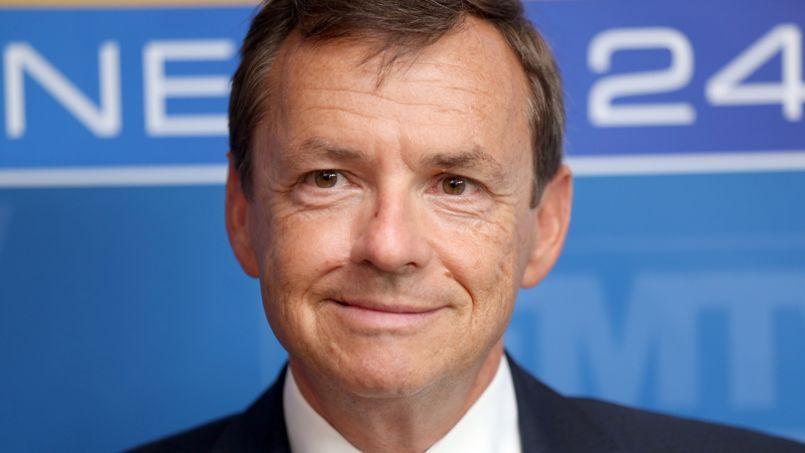 Alain Weill, président du groupe NextRadioTV.