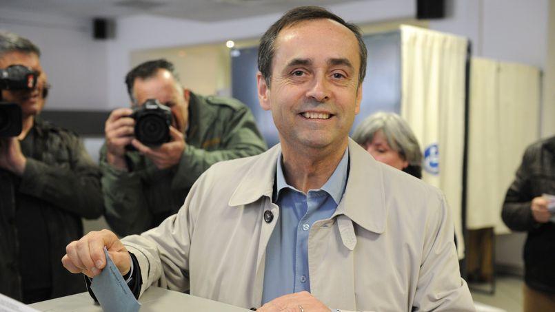 Robert Ménard est arrivé largement en tête du premier tour des municipales à Béziers (Hérault).
