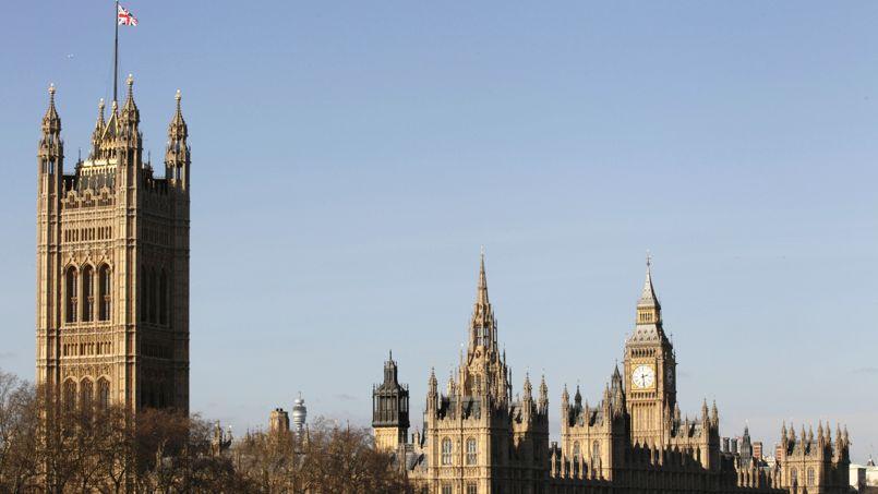 Le palais de Westminster.