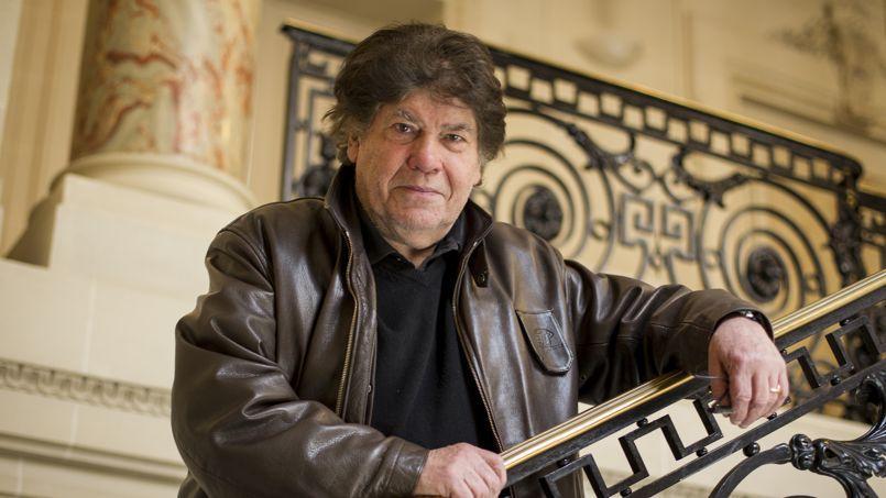 Pierre Péan au Figaro, le 24 mars 2014. Photo François Bouchon/ Le Figaro.
