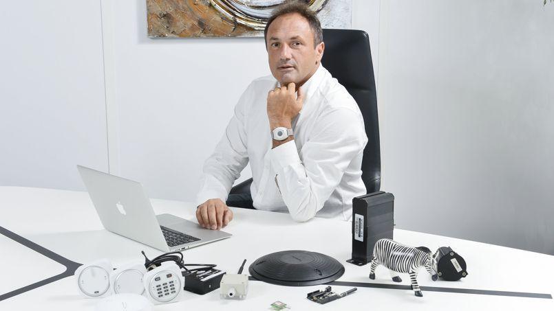 Ludovic LeMoan, fondateur et PDG de Sigfox.