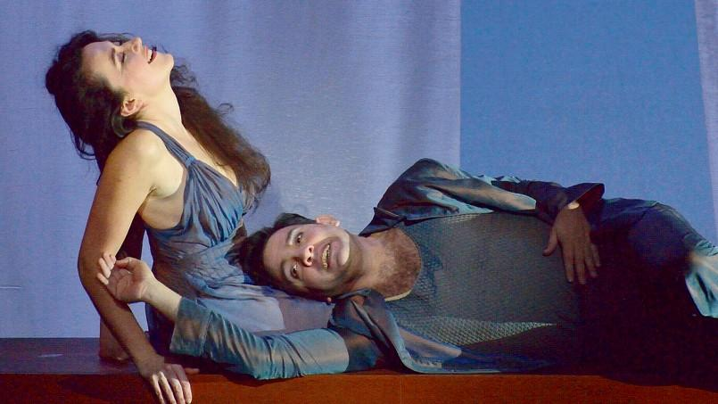 Stéphanie d'Oustrac (Mélisandre) et Armando Noguera (Pelléas).