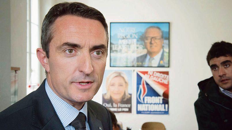 Stéphane Ravier (ici lundi 31 mars dans son QG à Marseille)a emporté le secteur le plus peuplé - 151.000 habitants - de la Cité phocéenne.