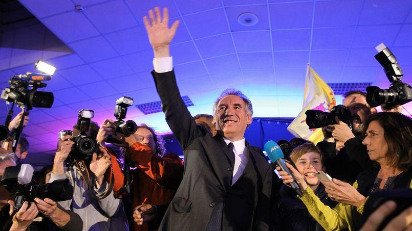 François Bayrou, dimanche soir.