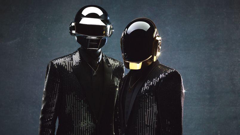 Le stockage de musique en ligne permet de transférer ses disques sur des serveurs Internet et pouvoir en profiter en toutes circonstances. (Photo d'illustration: le groupe Daft Punk).