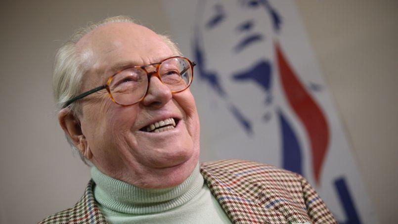 Jean-Marie Le Pen, président d'honneur du Front national .