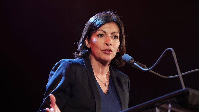 Anne Hidalgo, jeudi, à Paris.