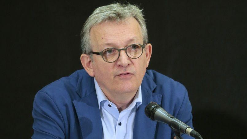 Pierre Laurent, le secrétaire national du PCF, le 24 mars à Paris.