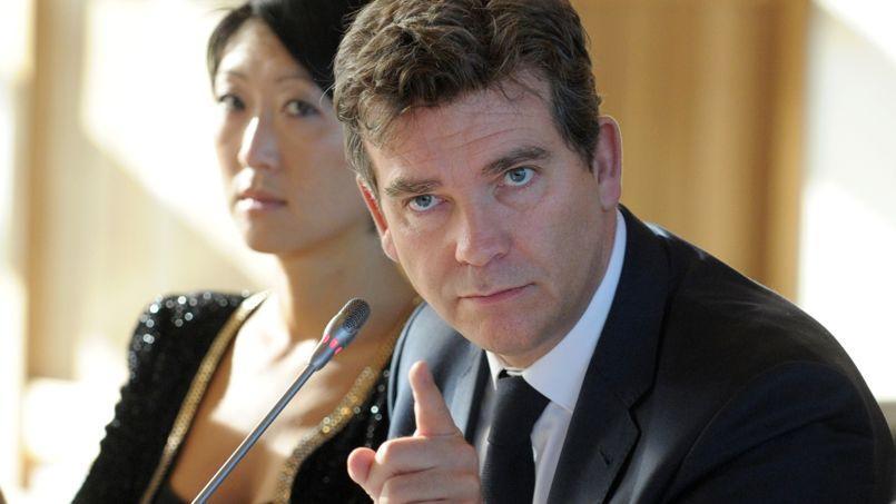 Arnaud Montebourg, le nouveau ministre de l'Économie, du Redressement productif et du Numérique.