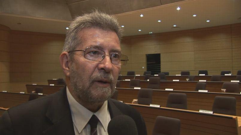 Jacques Hélias, maire sortant de Montbéliard.