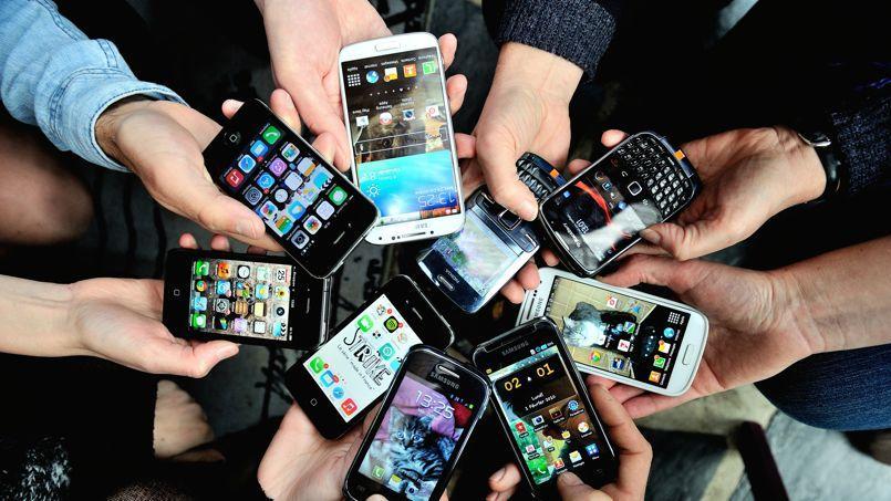 Les cadres sont en permence «sous l'eau» à cause de leurs smartphones professionnels.