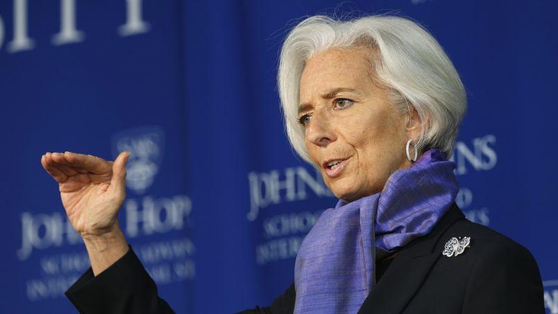 Christine Lagarde, directrice générale du FMI, le 2 avril à Washington.