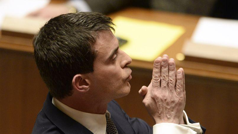 Ce que disent les gestes de Manuel Valls
